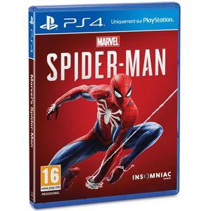 JEU PS4 NOUVEAUTÉ Marvel's Spider-Man Jeu PS4