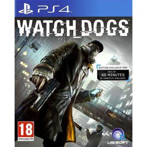 JEU PS4 Watch Dogs Jeu PS4