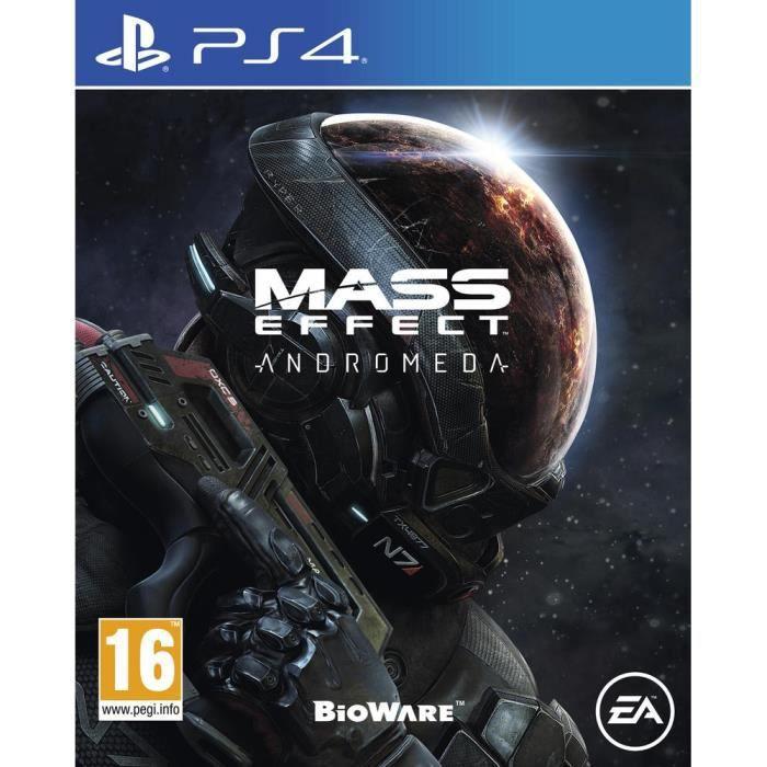 JEU PS4 Mass Effect Andromeda Jeu PS4