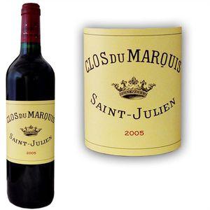 VIN ROUGE Clos du Marquis 2005 Saint Julien - Vin rouge de B