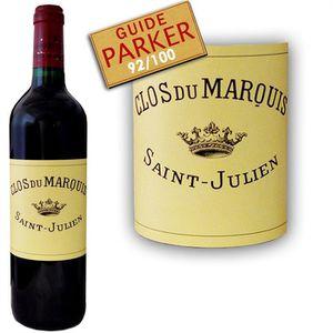 VIN ROUGE Clos du Marquis 2007 Saint-Julien - Vin rouge de B
