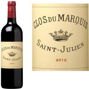 VIN ROUGE Clos du Marquis 2012 Saint-Julien - Vin rouge de B