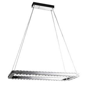 LUSTRE ET SUSPENSION Lustre - suspension rectangle 70x30x120 cm LED 18