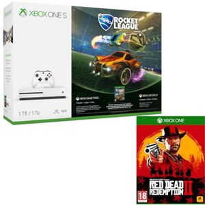 CONSOLE XBOX ONE Xbox One S 1 To Rocket League + Red Dead Redemptio