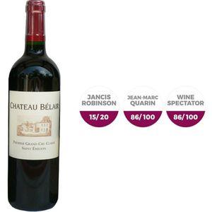 VIN ROUGE Château Belair Saint-Emilion 2007 - Vin rouge