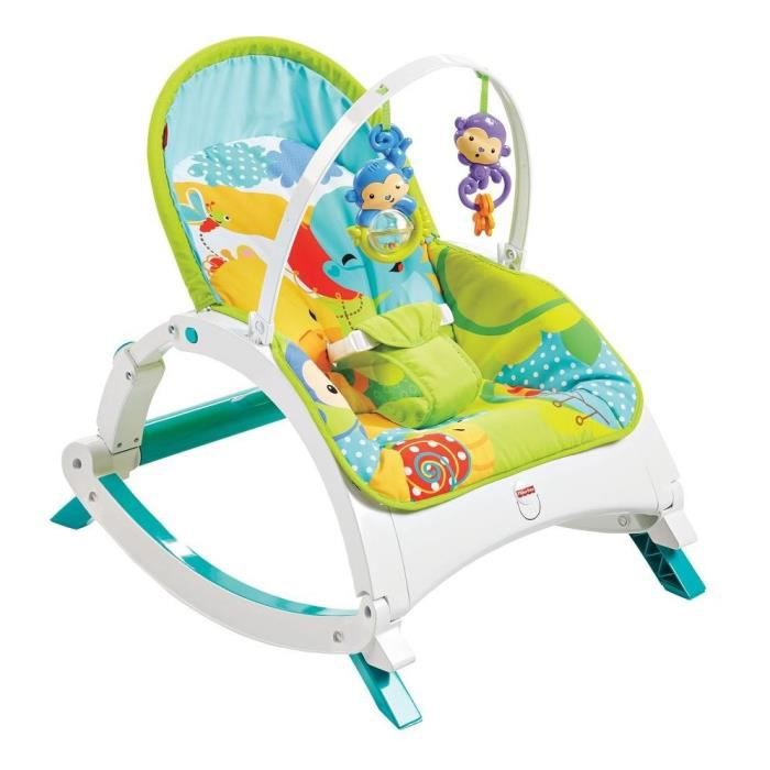 Fisher price transat evolutif amis jungle achat vente transat 0887961163186 soldes d s le - Chaise fisher price musical ...