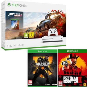 CONSOLE XBOX ONE Xbox One S 1 To Forza + Red Dead Redemption 2 + Ca