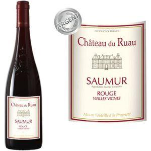 VIN ROUGE Château du Ruau Saumur 2014 - Vin rouge x1