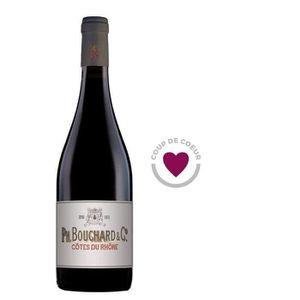 VIN ROUGE Bouchard & Cie Côtes du Rhône 2016 - Vin rouge x1