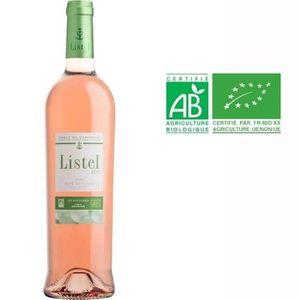 VIN ROSÉ Listel Sable de Camargue Vin Rosé BIO