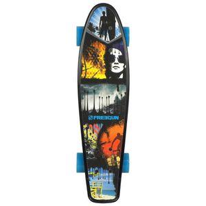 SKATEBOARD - LONGBOARD FREEGUN Skateboard Vintage Stripe 22,5''