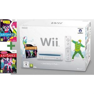 CONSOLE WII Wii BLANCHE + L'INTEGRALE JUST DANCE