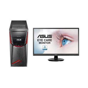UNITÉ CENTRALE + ÉCRAN PC Gamer - ASUS G11DF-FR016D - Ryzen 5  -RAM 8Go -