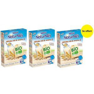 CÉRÉALES BÉBÉ NESTLÉ P'tite Céréales Bio Blé & avoine - 240 g -