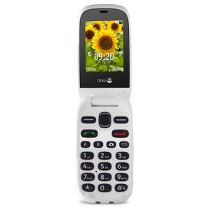 Téléphone portable Doro 6030 Blanc Graphite - Téléphone Senior