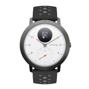 MONTRE CONNECTÉE WITHINGS Steel HR Sport Blanc