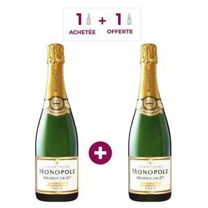 CHAMPAGNE Heidsieck & Co Monopole 1 achetée = 1 OFFERTE