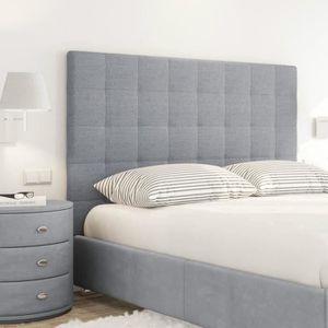 tete de lit a poser au sol achat vente tete de lit a poser au sol pas cher cdiscount. Black Bedroom Furniture Sets. Home Design Ideas
