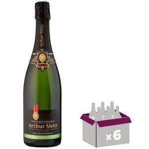 VIN BLANC Crémant d'Alsace Chardonnay AOP Athur Metz - Vi...