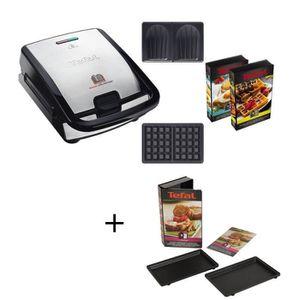 TRAITE - ELECTROMENAGER Pack Spécial : TEFAL - Gaufrier SW853D12 + Coffret