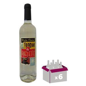 VIN BLANC Piste Noire Idéal pour Fondue et Raclette Vin de l