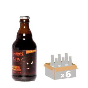 BIÈRE DE SUTTER Sombre Folle Bière Brune - 33 cl x6 - 8,