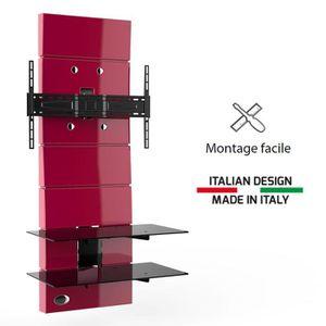 meuble tv high tech achat vente meuble tv high tech pas cher cdiscount. Black Bedroom Furniture Sets. Home Design Ideas