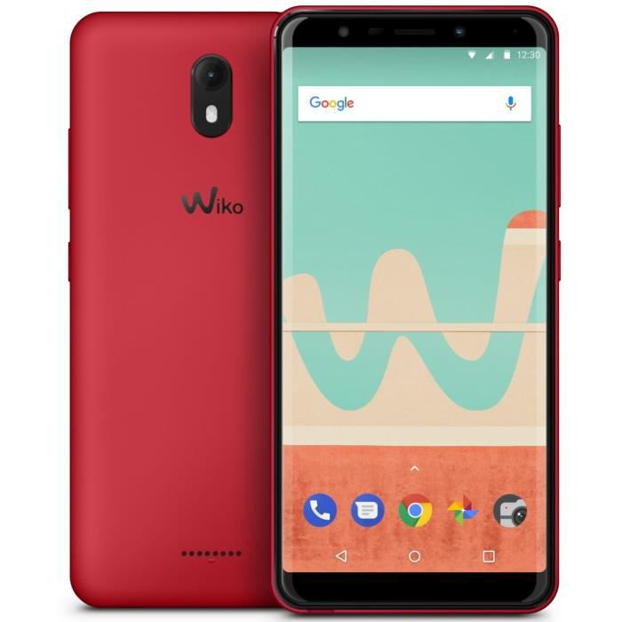 SMARTPHONE Wiko View Go Cherry Red
