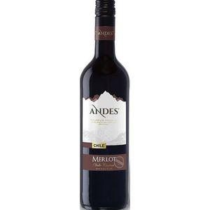 VIN ROUGE Andes Merlot - Vin rouge du Chili