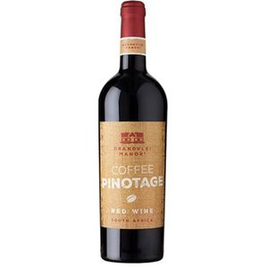 VIN ROUGE Brandvlei Coffee Pinotage - Vin  rouge d'Afrique d