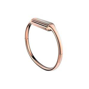 BRACELET MONTRE CONNEC. FITBIT Bracelet Bijoux Métal pour FLEX 2 - Plaqué