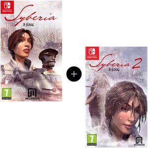 JEU NINTENDO SWITCH Pack de 2 jeux Nintendo Switch : Syberia 1 + 2