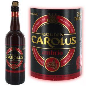 BIÈRE Bière Gouden Carolus Ambrio 75cl 8°
