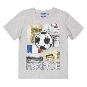 MAILLOT DE FOOTBALL FFF Equipe de France T-shirt Supporter Enfant Garç