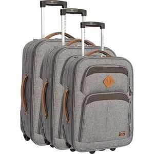SET DE VALISES COMPAGNIE DU BAGAGE - Lot de 3 valises 51/61/71cm