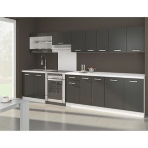 cuisine compl te achat vente cuisine compl te pas cher soldes d s le 10 janvier cdiscount. Black Bedroom Furniture Sets. Home Design Ideas
