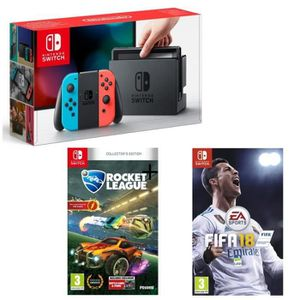 CONSOLE NINTENDO SWITCH Pack World Cup