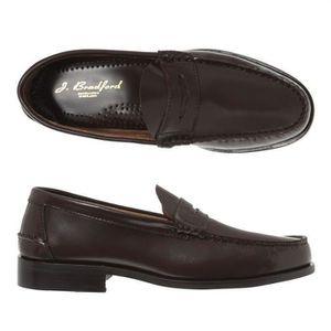 MOCASSIN J. BRADFORD Mocassins Cuir Cooper Chaussures Homme