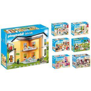 UNIVERS MINIATURE PLAYMOBIL - Pack Gamme Maison Moderne - La Maison