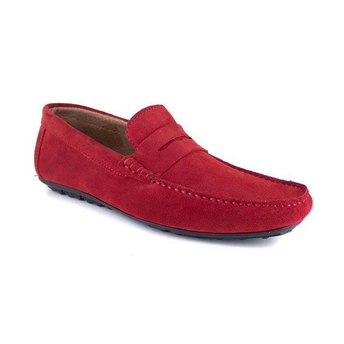 6bef686324c197 Chaussure homme rouge - Achat / Vente pas cher