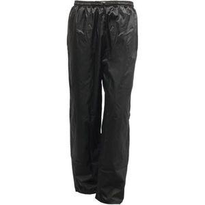 VETEMENT BAS S-LINE Pantalon de Pluie Moto Noir