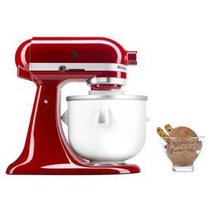 ROBOT DE CUISINE Pack KITCHENAID Robot pâtissier Artisan - Rouge em