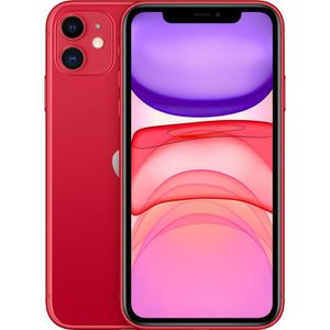 SMARTPHONE APPLE iPhone 11 (PRODUCT)Red 256 Go