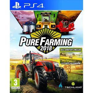 JEU PS4 NOUVEAUTÉ Pure Farming 2018: Day One Edition Jeu PS4 + 2 bon