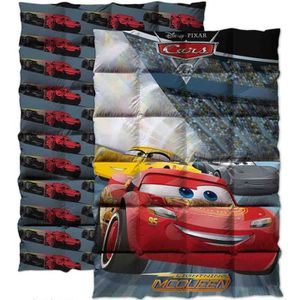 COUETTE CARS Couette imprimée 140x200 cm gris, rouge et ja