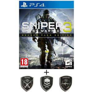 JEU PS4 Pack Sniper Ghost Warrior 3 Season Pass Edition Je