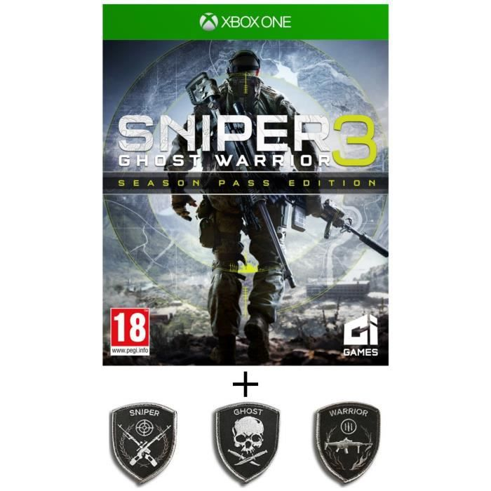 JEU XBOX ONE Pack Sniper Ghost Warrior 3 Season Pass Edition Je