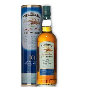 WHISKY BOURBON SCOTCH Tyrconnell 10 ans sherry 46°  70cl