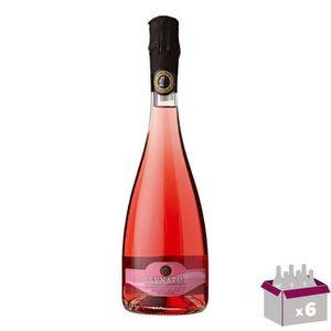 PÉTILLANT & MOUSSEUX Lunato lambrusco doc rosé x6