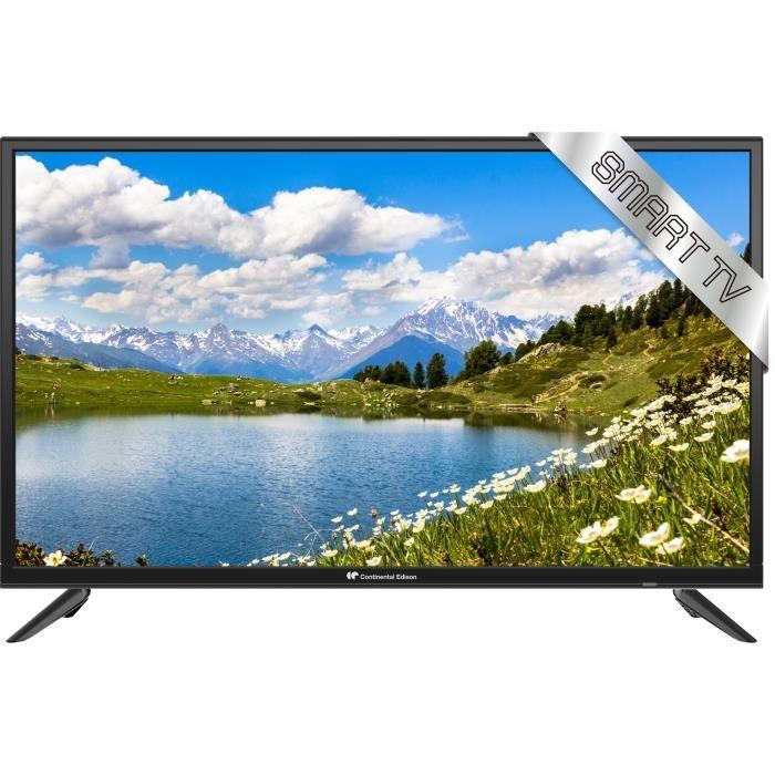 Téléviseur LED CONTINENTAL EDISON TV LED HD SMART WIFI 80cm (31.5